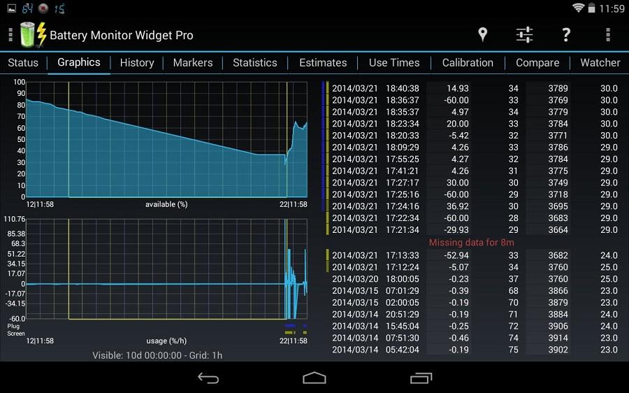 Battery Monitor Widget